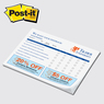 "PD68P-50 - Post-it Note Pad - Value Priced 8"" x 5-3/4"" x 50 sheets"